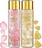 Absolute Gold 24K ROSE PETAL FACIAL TONER – GOLD PETAL FACIAL TONER ( pack 2). 24 KARAT GOLD / COLLAGEN. For all skin types. For Sale