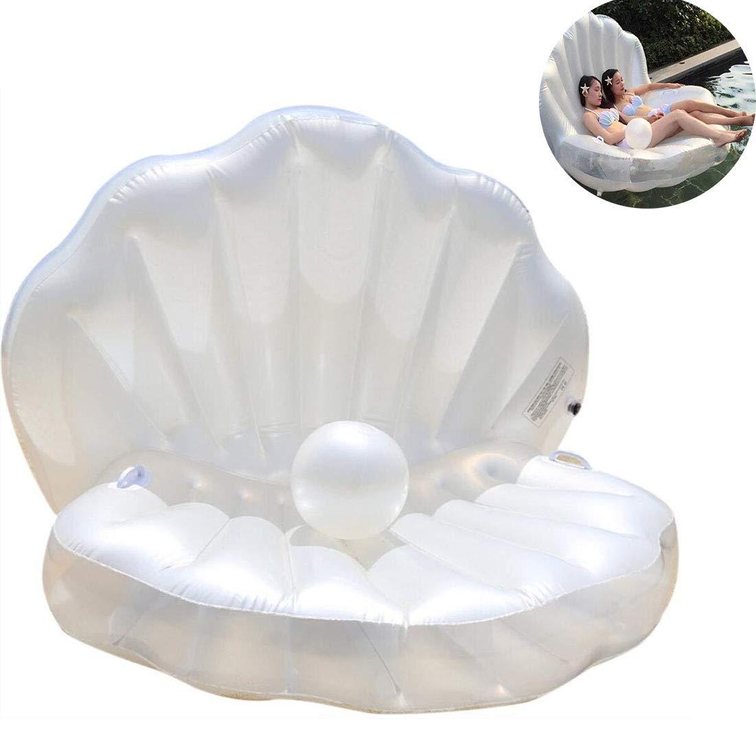 SWM Riesige aufblasbare Perlen-Pool-Hin- und Herbewegung, Swimmingpool-SchlauchStiefel mit schnellem Ventil-Sommer-Wasser-Spielzeug für Erwachsen-Kinder, passend für Strand-Swimmingpool
