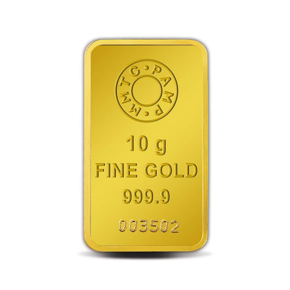 Buy Mmtc Pamp Lotus 24k 999 9 10 Gm Gold Bar Online At Low Prices In India Amazon Jewellery Store Amazon In