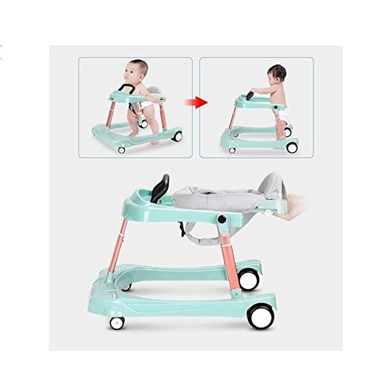 WYXYETC Cochecitos Baby Walker Trolley para niña de bebé Masculino ...