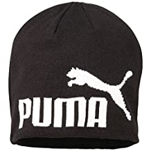 Puma Cat Logo Kids Beanie Hat - Black - One Size