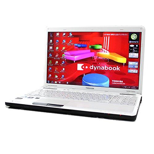 東芝 TOSHIBA dynabook T551 58BWS ベルベッティホワイト Core i7 8GB 750GB ブルーレイ 15.6型液晶 パソコン