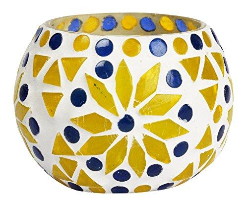 Lalhaveli Home Decorative Handmade Votive Glass Candle Holder Gift Item 3 ()
