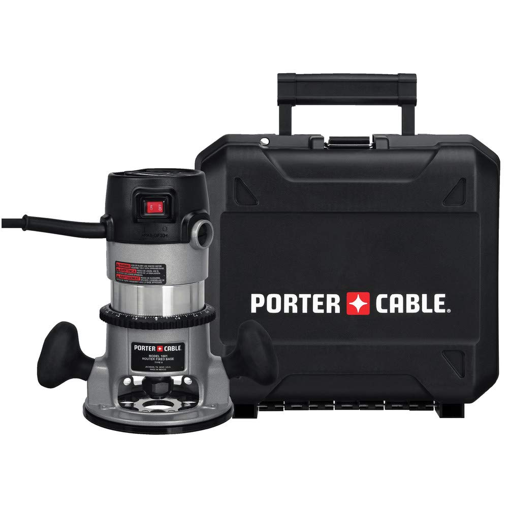 Factory-Reconditioned Porter-Cable 9690LRR 1-3 4 Horsepower Router Kit