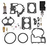 New Carburetor Repair Kit w/FLOAT 18-7098-1 for Mercarb Mercruiser Marine 2 Barrel Rochester 3302-804844002 1389-9562A1 1389-9563A1 1389-9564A1 1389-9670A2 1389-806077A2 1389-806078A2