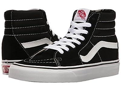 Vans Sk8-Hi Black White Skate VN-0D5IB8C Mens US 7.5