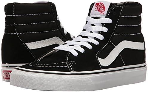 Vans Sk8-Hi Black White Skate VN-0D5IB8C Mens US 8