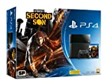 Sony Playstation 4 PS4 500GB Console Black UK InFamous Second Son Bundle