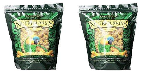 Lafeber s Gourmet Tropical Fruit Nutri-Berries for Parrots 3 lb. Bag (2 PACK OF 3LB)