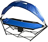 Sporting Goods : Kijaro All In One Portable Hammock with Detachable 180 Degree Rotating Canopy and Cooler