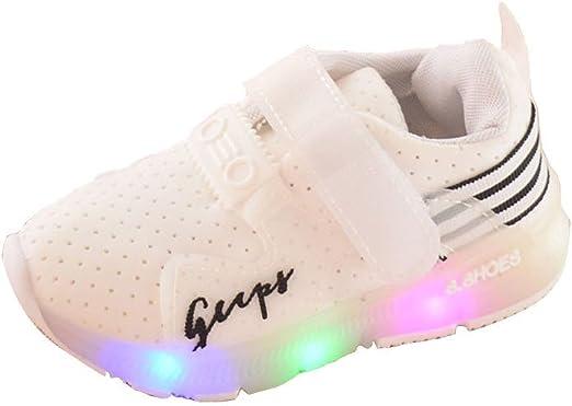 YanHoo Zapatos para niños Zapatos Deportivos de otoño Luces LED ...