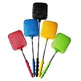 Mromick Plastic Telescopic Extendable Fly Swatter Prevent Pest Mosquito Tool