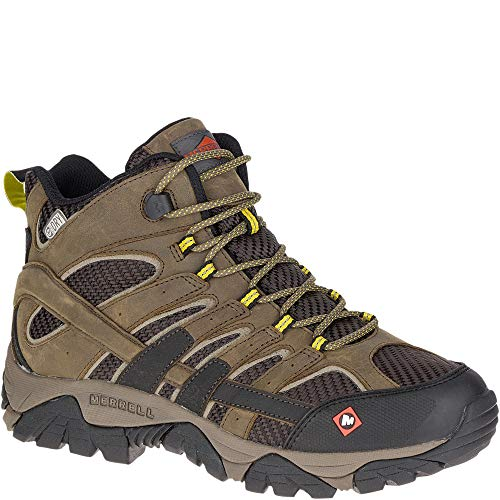 Merrell Moab 2 Ventilator Mid Waterproof Work Boot Men 9 - Mens Mesh Cap Ventilator