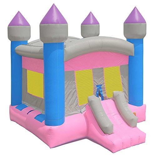 Princess Castle Bounce House - Inflatable HQ Commercial Grade Bounce House 100% PVC Princess Castle Jumper Inflatable Only - Girls