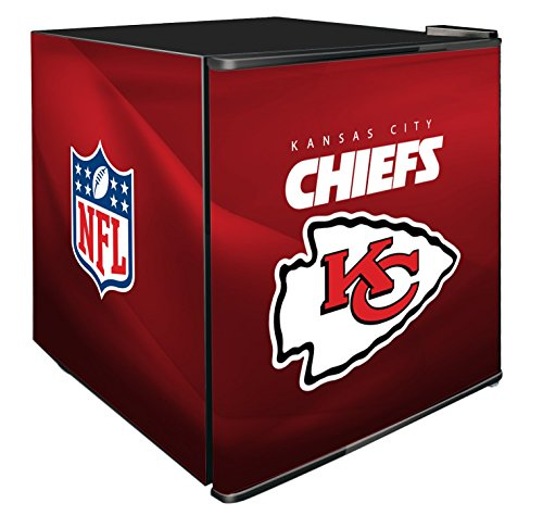 NFL Kansas City Chiefs Refrigerated Counter Top Cooler, Small, Red by SG Merchandising Solution