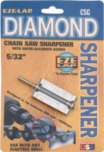 EZE-LAP CSG 5/32 Chainsaw Sharpener with Super Accurate Guide by EZE-LAP