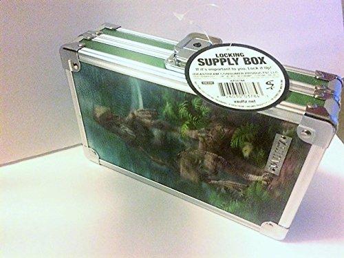 - Vaultz 3D Locking Supply Box, 5.5 x 8.25 x 2.5 Velociraptor