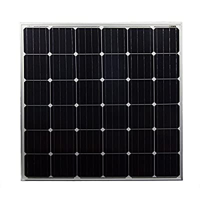 150 Watt Monocrystaline Solar Panel - Mighty Max Battery brand product