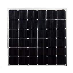150 Watt 12 Volt Monocrystalline Off Grid Solar Panel - Mighty Max Battery brand product