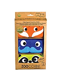 Zoocchini Organic Boys Boxers Enchanted Forest, 2T/3T