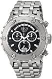 Invicta Men's 1566 Reserve Chronograph Black Dial Stainless Steel Watch