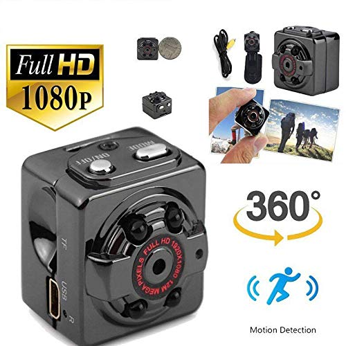 Bestcam Mini Camera SQ8 HD 1080p Recorder Mini Car DV Motion Sensor IR Night Vision Micro Cam Sport DV Wireless Camcorder Recorder Spyy Hidden Small Camera ...