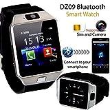 SR Global Bluetooth Smart Watch Wrist Watch Phone with Camera & SIM Card Support Model 127071
