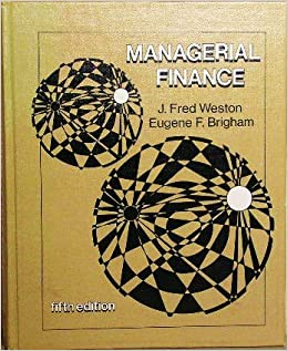 Book Managerial finance