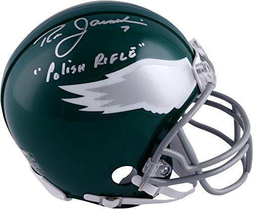 Ron Jaworski Philadelphia Eagles Autographed Throwback Mini Helmet with