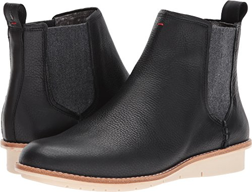 Ed Ellen Degeneres Womens Waide Black Dark Grey Ventura Pebbled 8 5 M Us