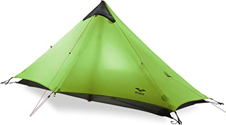 Mier Ultralight Tent 3 Season Backpacking Tent For 1 Person Or 2 Person Camping Trekking Kayaking Climbing Hiking Trekking Pole Is Not Included Green 1 Person Amazon Co Uk Sports Outdoors