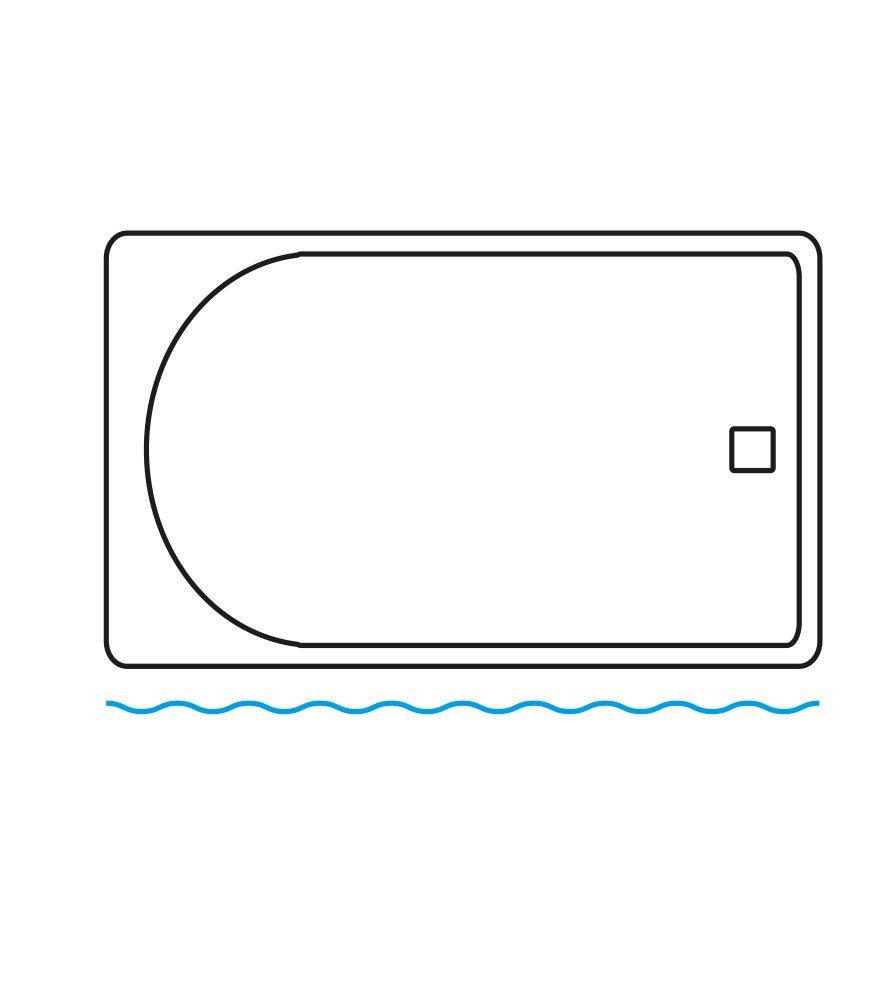 impermeabile 180 x 200 cm, Spa Tenda da doccia effetto anti-muffa grande scelta di belle tende da doccia di alta qualit/à 12 anelli inclusi