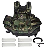 GXG Deluxe Camo Vest + Remote + 4 - 140rd Tubes