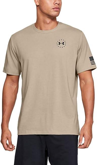 Under Armour Mens Freedom Flag T-Shirt Camiseta Manga Corta Hombre