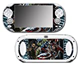 Avengers 3 Spider Man Hulk Iron Hawkeye Thor Black Widow Thanos Age of Ultron Video Game Vinyl Decal Skin Sticker Cover for Sony Playstation Vita Regular Fat 1000 Series System
