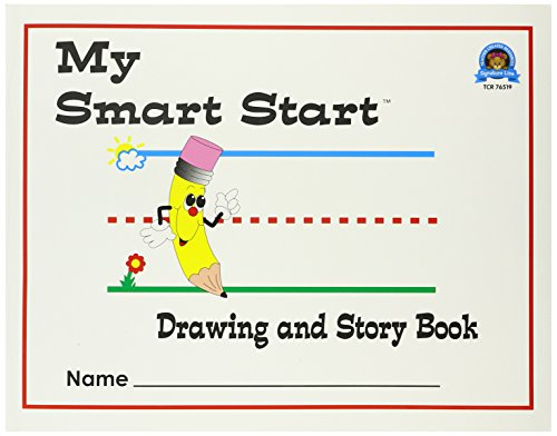 Teacher Created Resources 76519 Smart Start Drawing & Story Book K-1 Journal
