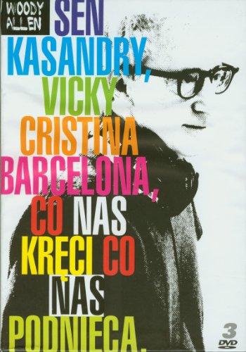 Cassandra's Dream / Whatever Works / Vicky Cristina Barcelona (BOX) [3DVD] (English audio)
