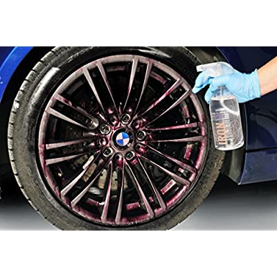 GYEON Quartz Q²M Iron 1000 ml - Iron Remover Breaks Down Embedded Iron Deposits in Paint and Wheels: Automotive