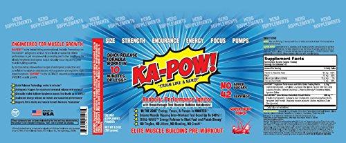 ka-pow the fastest hitting anabolic pre workout