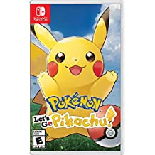 Pokemon Let's Go Pikachu - Nintendo Switch