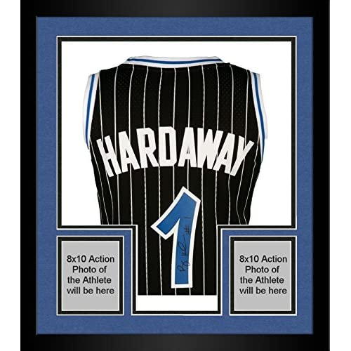 new product 28697 c3f92 lovely Framed Penny Hardaway Orlando Magic Autographed ...