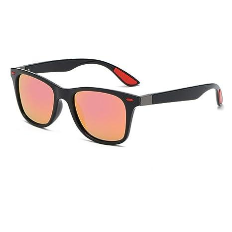 Yangjing-hl Gafas de Sol polarizadas cuadradas clásicas ...