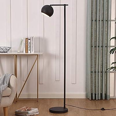 WYHYQY 1-luz LED Lámpara de pie, Negro, Mate, plástico de Malla ...