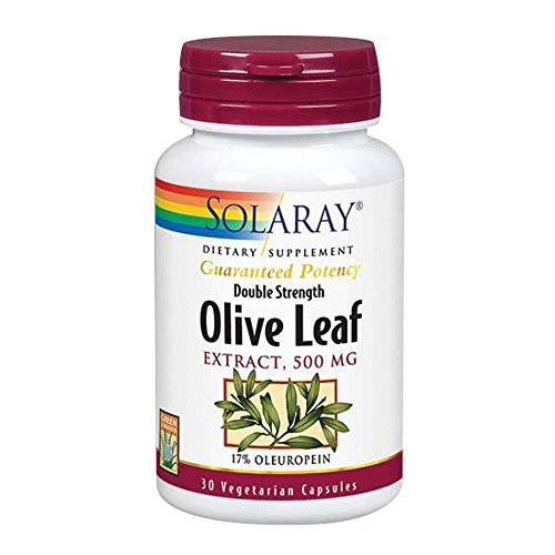 Solaray Olive Leaf Two Daily, 30 Caps