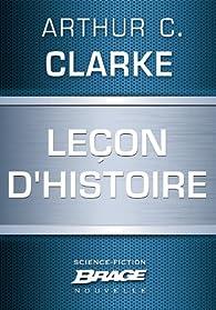 Leçon d'Histoire par Arthur C. Clarke