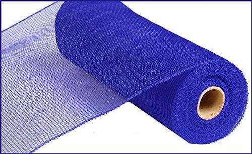 10 inch x 30 feet Deco Poly Mesh Ribbon - Value Mesh (Royal -