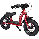 Bikestar 10 inch (25.4cm) Kids Balance Bike / Kids Running Bike - Classic - Red