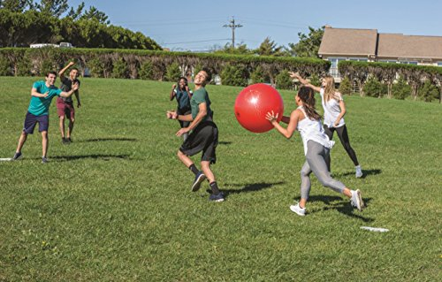 51lP37xD%2BnL - Wicked Big Sports Kickball-Supersized Kickball Outdoor Sport Tailgate Backyard Beach Game Fun for All