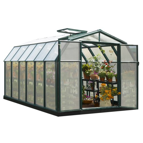 Rion Hobby Gardener 2 Twin Wall Greenhouse, 8' x 12'