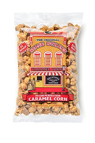 State Street Snacks Pecan Caramel Popcorn  6 Ounce Bag  Pack Of 12